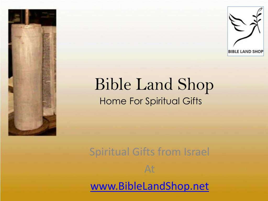 bible land shop l.