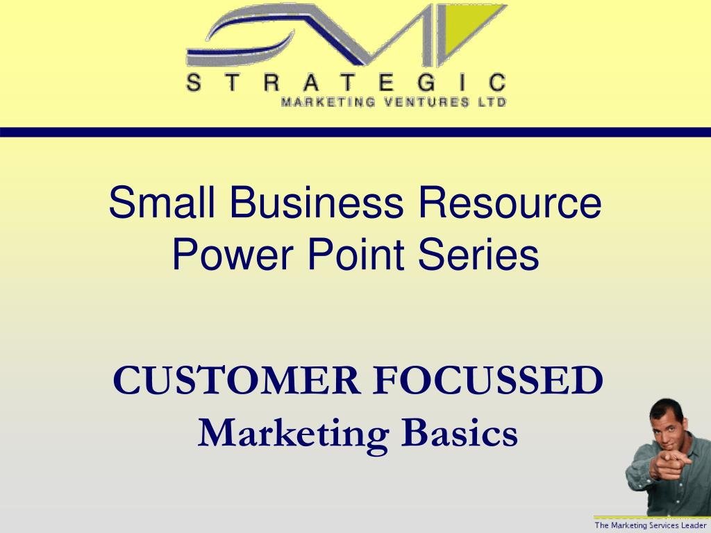 small business resource power point series l.