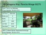 16 cartagena way rancho mirage 9227016
