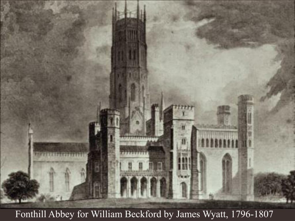 Fonthill Abbey for William Beckford by James Wyatt, 1796-1807