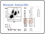 microcytic anemia ida