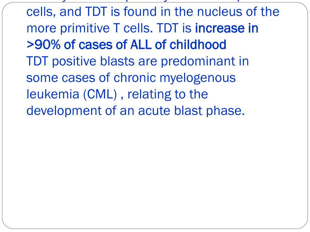 Terminal Deoxynucleotidyl Transferase