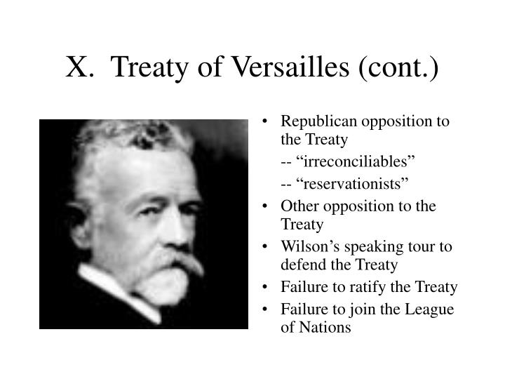 why the versailles treaty failed to Why did the treaty of versailles fail - it was the great war, the tragic occurrence that will forever leave a scar in world history.