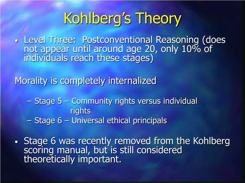 kohlberg theory enron Moral dilemma essay moral dilemma essay moral absolutism 1499 words | 6 pages moral absolutism a) explain what is meant by moral absolutism (25) moral.