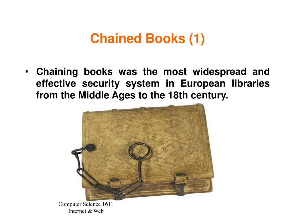 Chained Books (1)