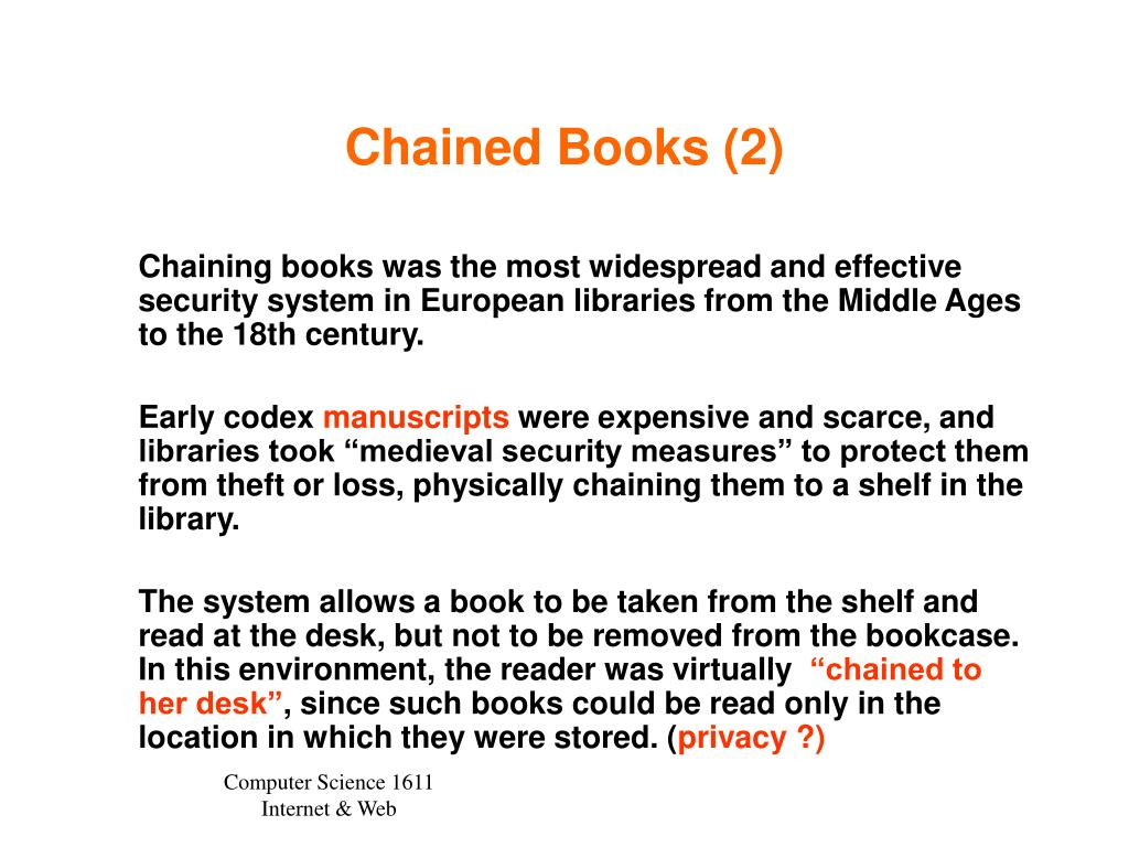 Chained Books (2)
