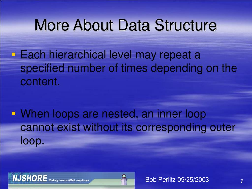 More About Data Structure