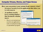 computer viruses worms and trojan horses6
