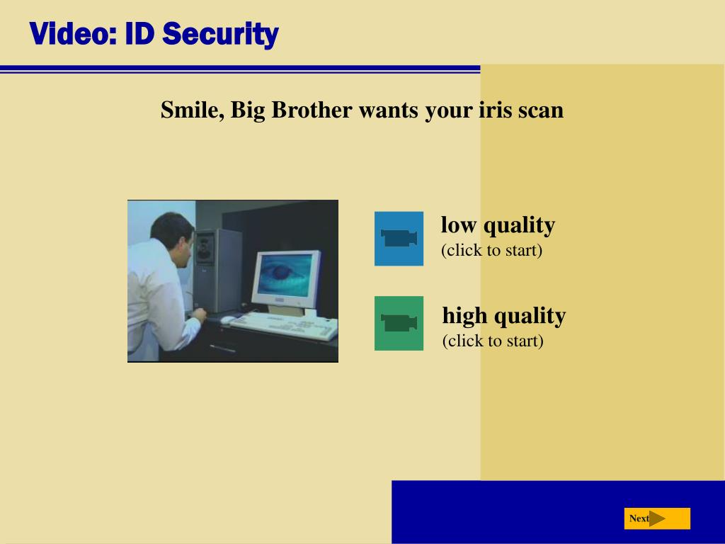 Video: ID Security