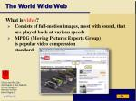 the world wide web43