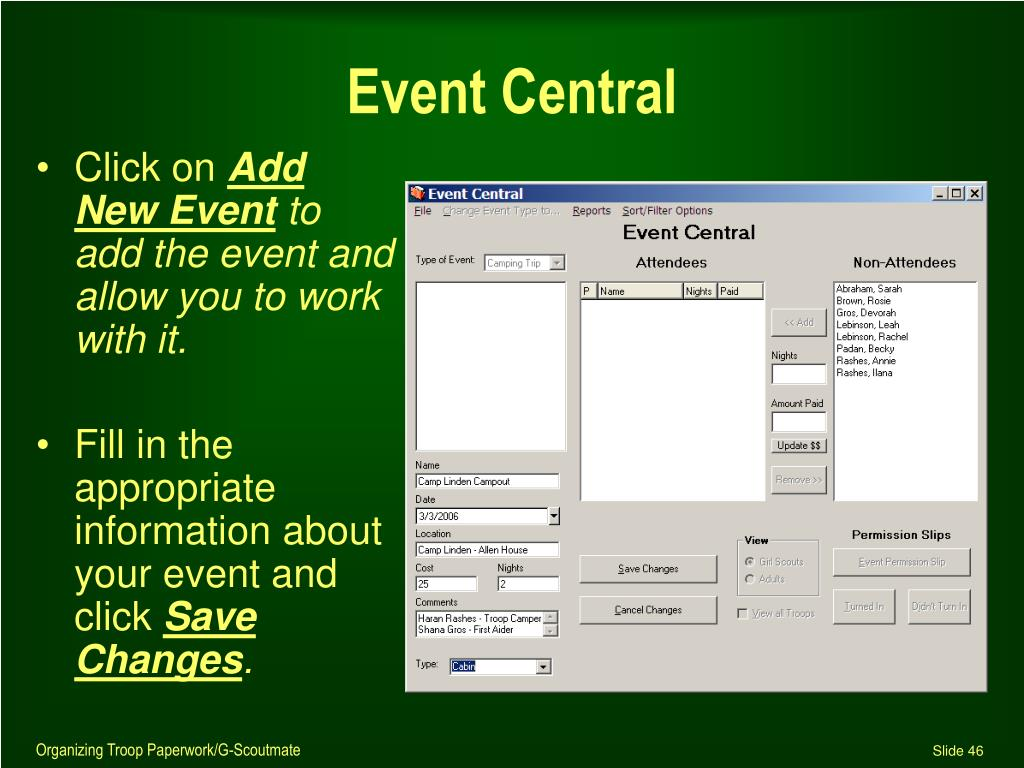 Event Central