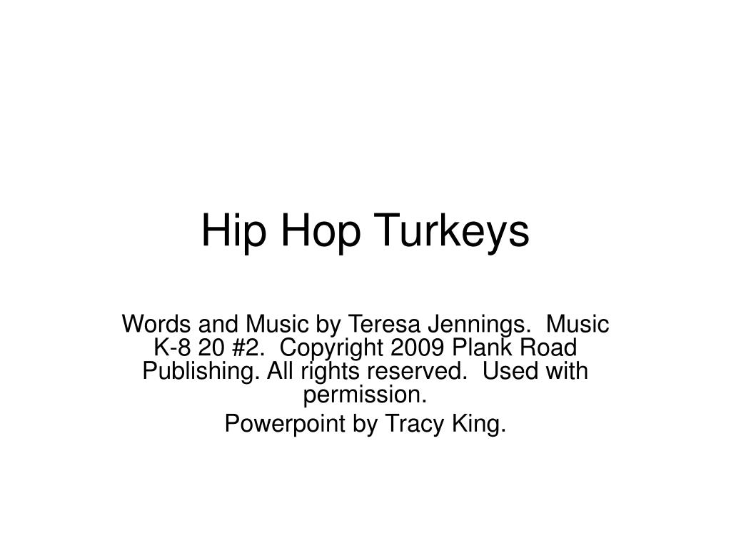 hip hop turkeys l.