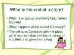 what is the end of a story