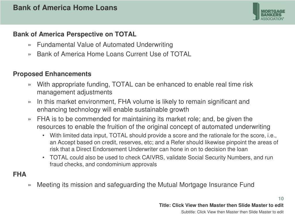 Bank of America Home Loans