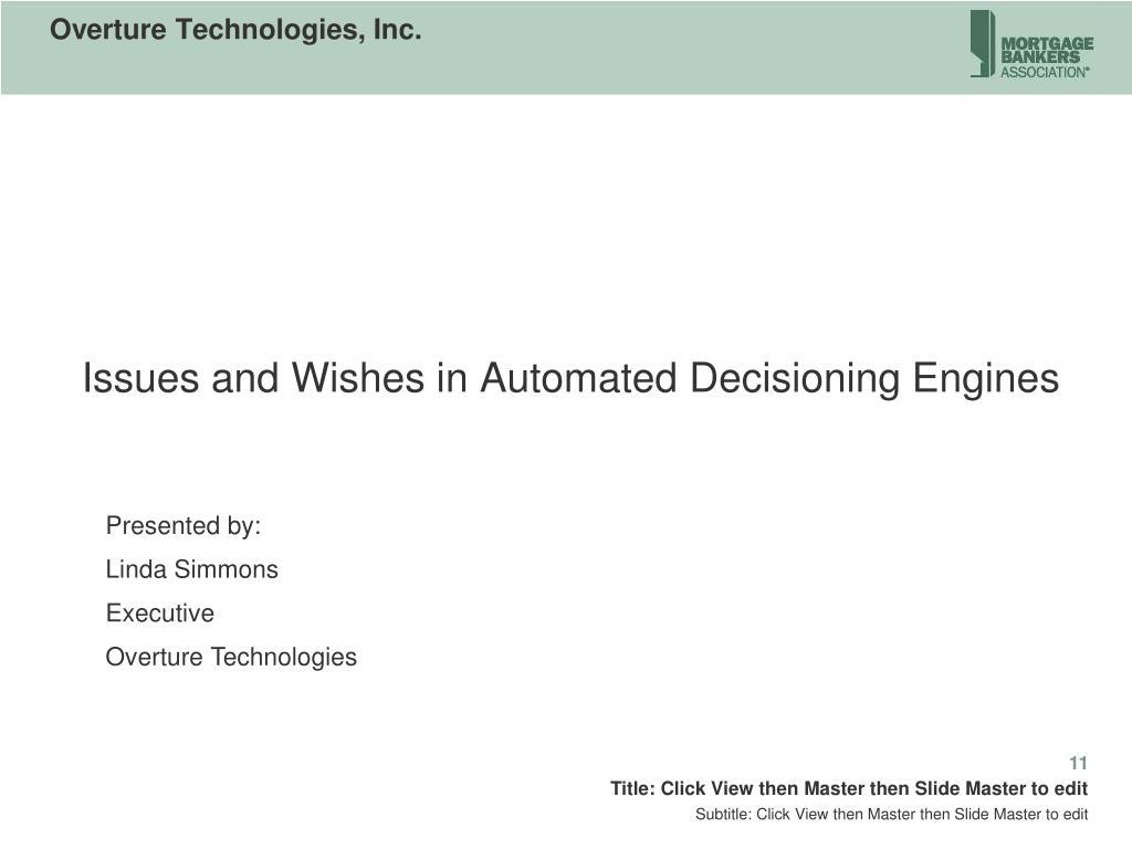 Overture Technologies, Inc.