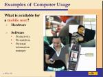 examples of computer usage40