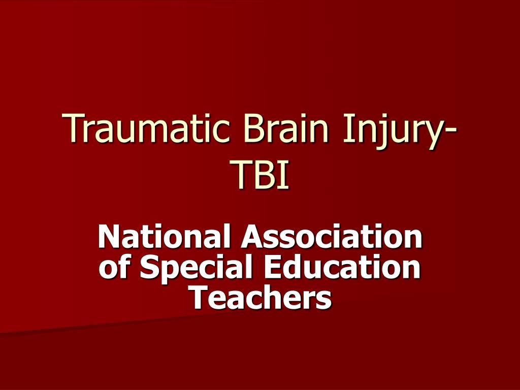 traumatic brain injury tbi l.