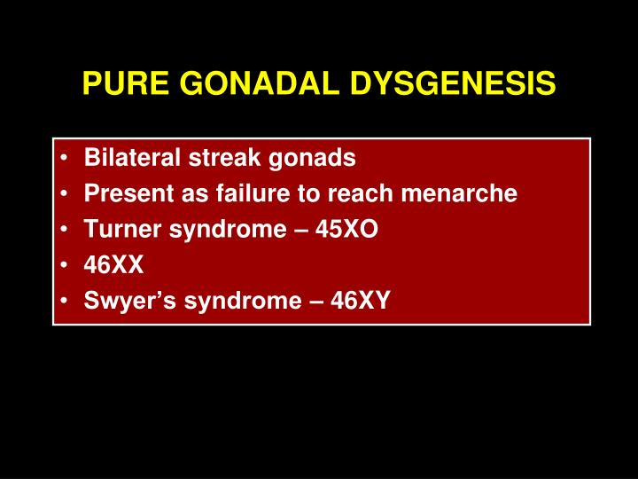 intersex syndrome ppt