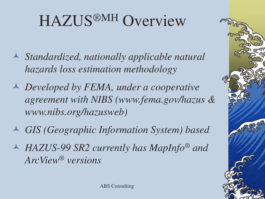 hazus software essay The new software can be downloaded for free from the map service center (msc) download page additional enhancements and changes to the hazus software include.