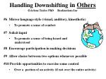 handling downshifting in others arlene taylor phd realizations inc24