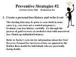 preventive strategies 2 arlene taylor phd realizations inc