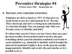 preventive strategies 4 arlene taylor phd realizations inc