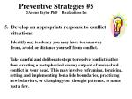 preventive strategies 5 arlene taylor phd realizations inc