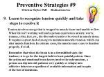 preventive strategies 9 arlene taylor phd realizations inc