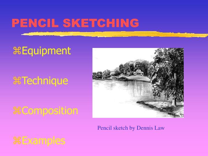 Pencil sketching2