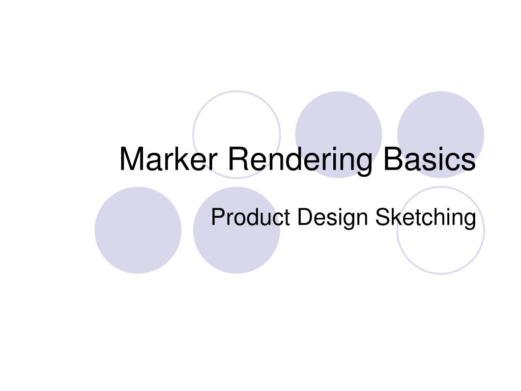 marker rendering basics l.