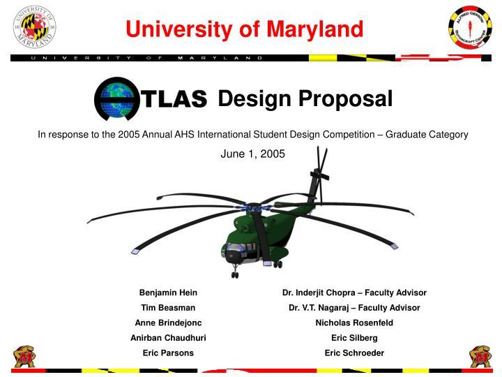 design proposal n.