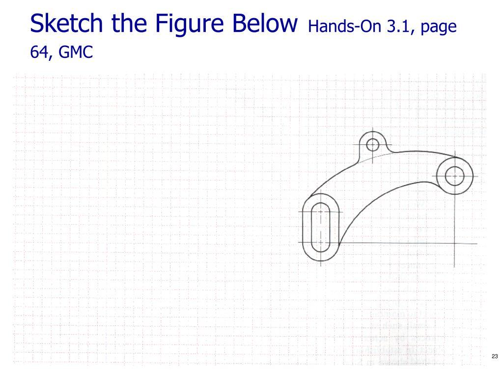 Sketch the Figure Below