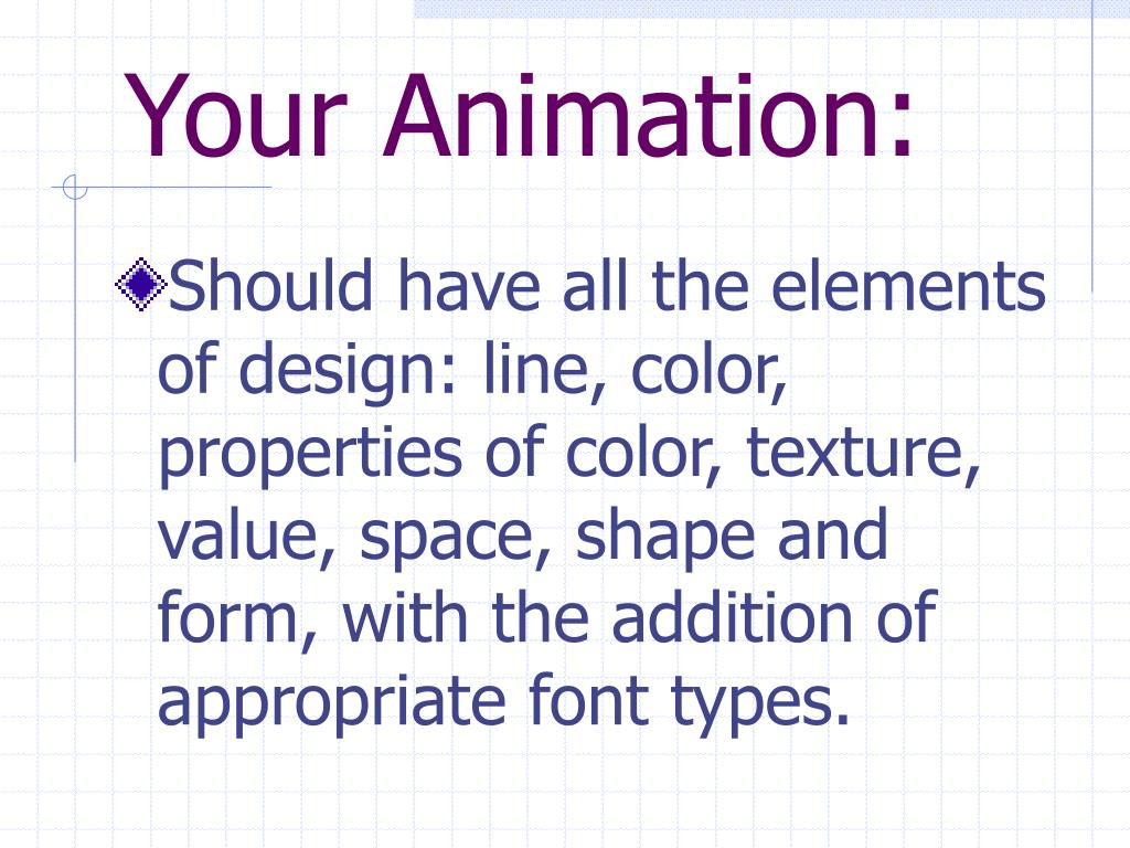 Your Animation: