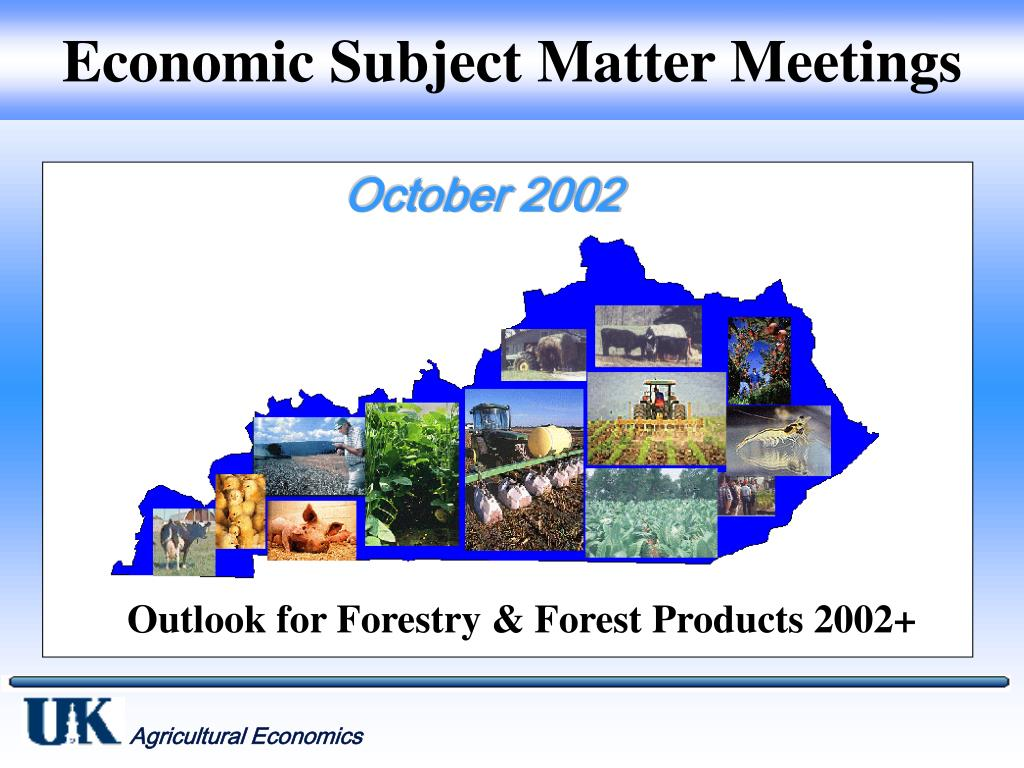 economic subject matter meetings l.