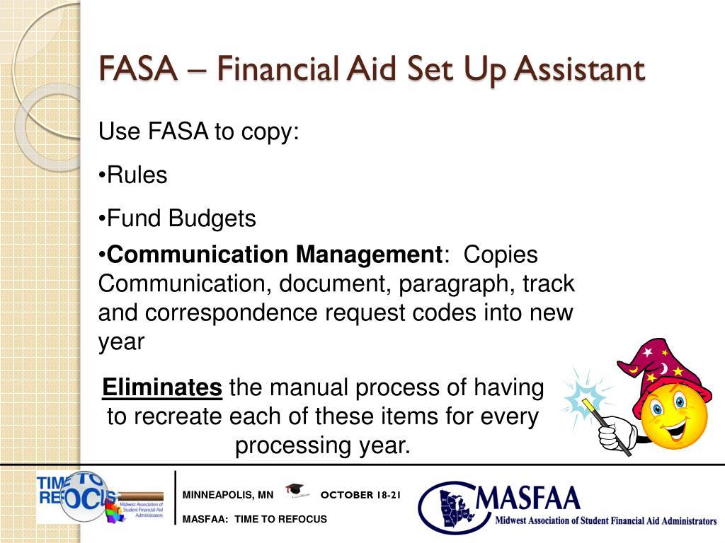 Datatel Financial aid manual