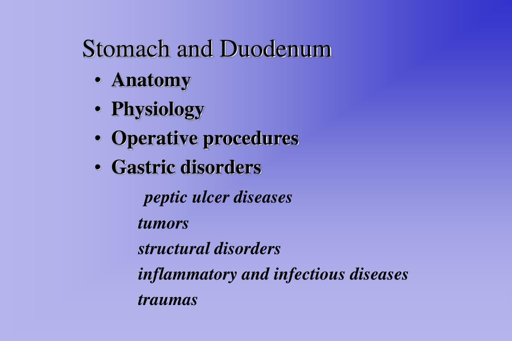Ppt Stomach And Duodenum Powerpoint Presentation Id280188