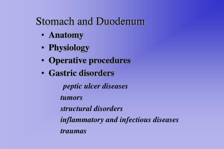 Ppt stomach and duodenum powerpoint presentation id280188 stomach and duodenum toneelgroepblik Choice Image