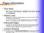 paper information4