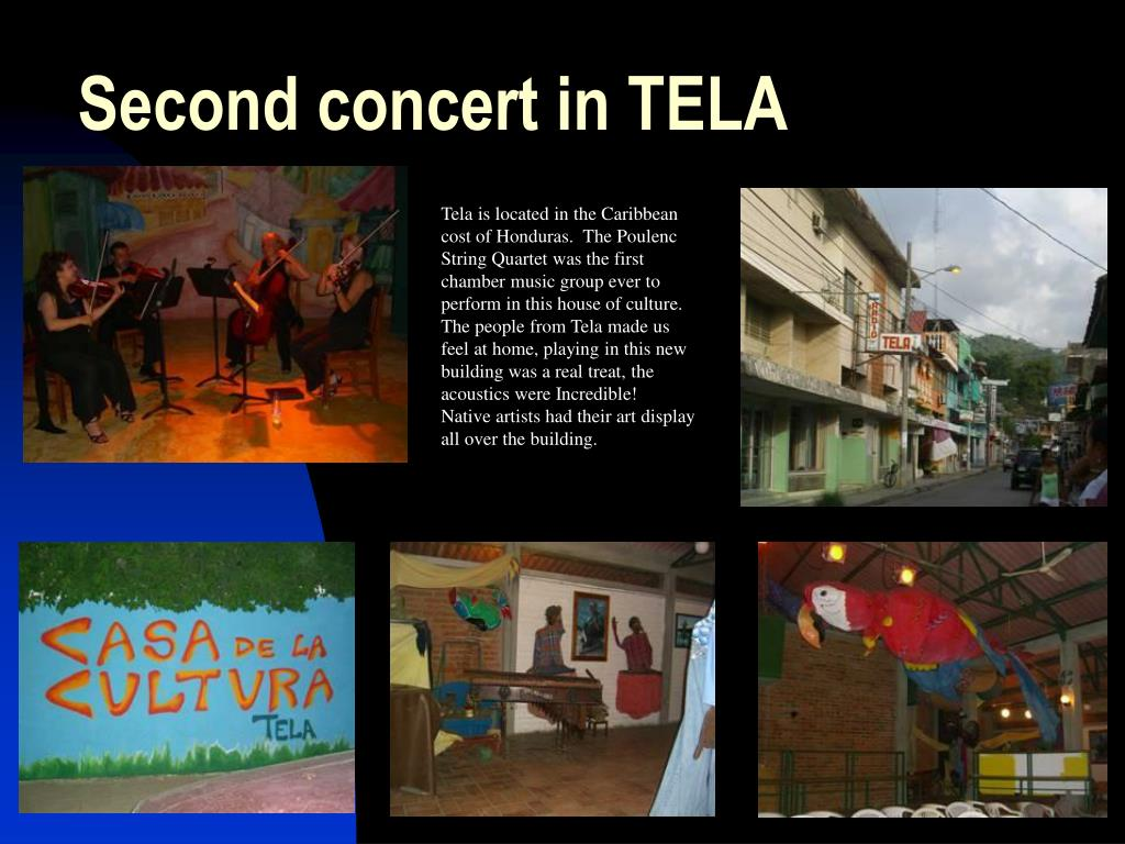 Second concert in TELA