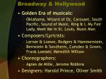 broadway hollywood