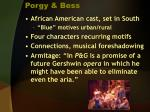 porgy bess