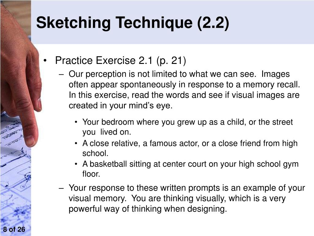 Sketching Technique (2.2)