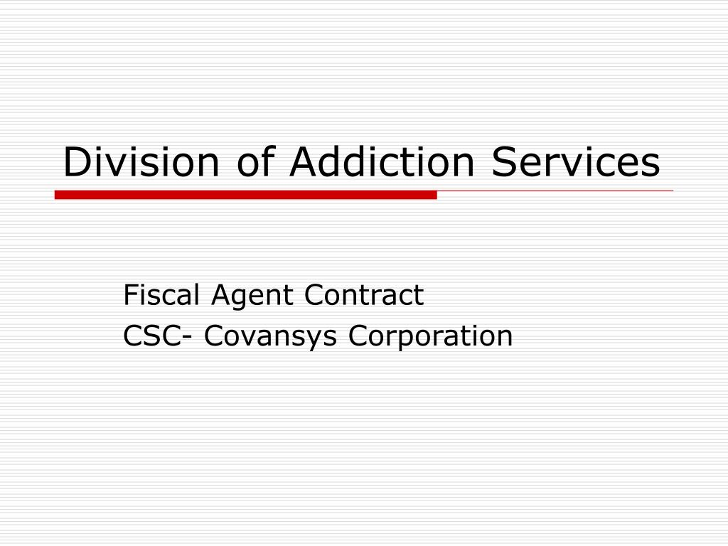 division of addiction services l.