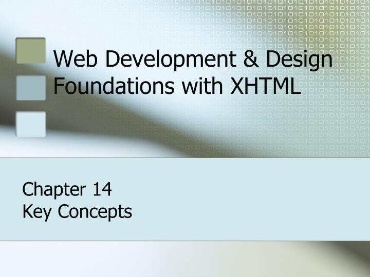 web development design foundations with xhtml n.