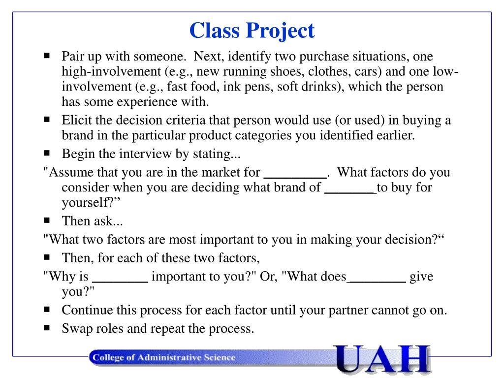 class project l.