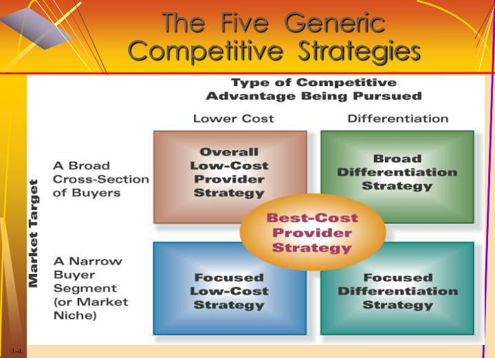 a broad differentiation strategy
