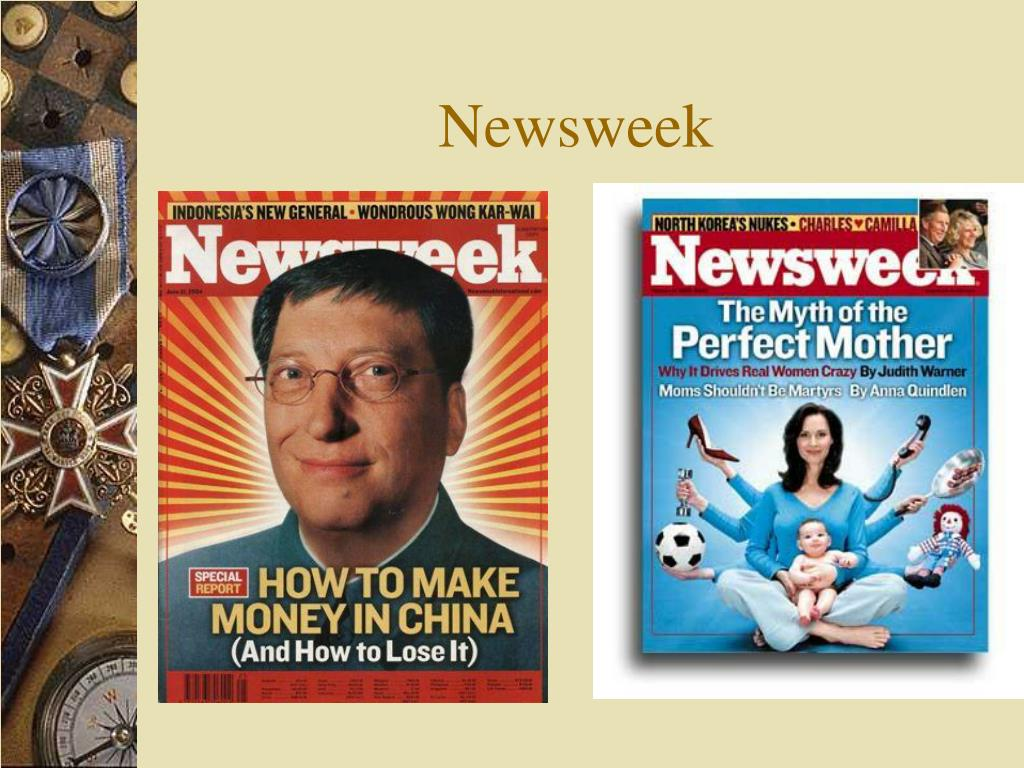 Newsweek my turn essays
