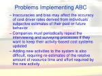 problems implementing abc36