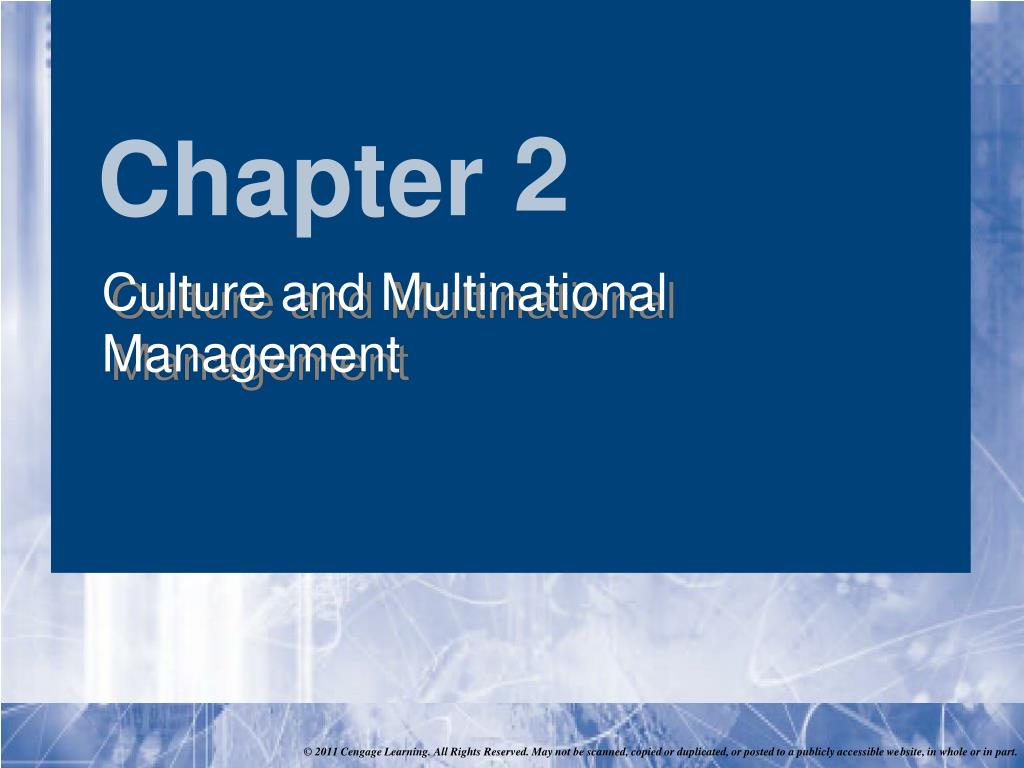 social and cultural differences in global management