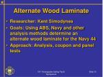 alternate wood laminate
